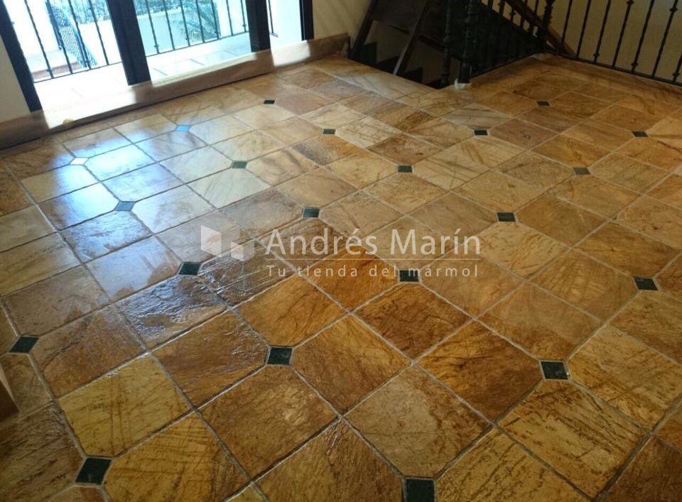 Suelo marmol precio m2 amazing limpiar y abrillantar for Marmol travertino precio m2